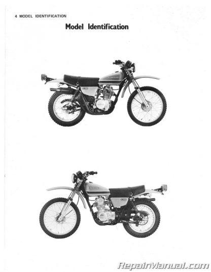 1978-1979 Kawasaki KL250 Motorcycle Service Manual