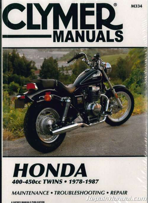small resolution of 1978 1987 honda cb400 cm400 cb450 cm450 cbx450 motorcycle clymer repair manual