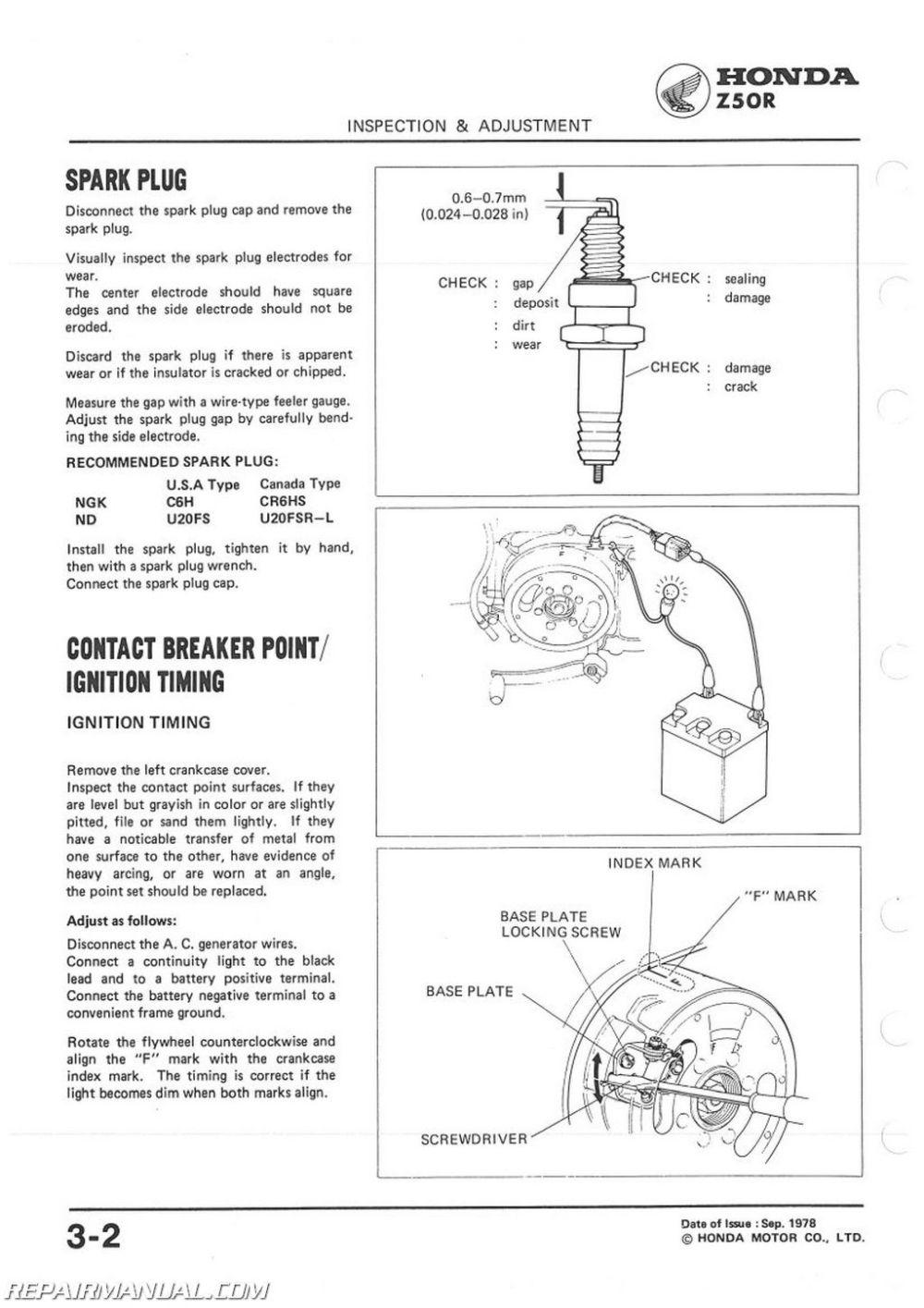 medium resolution of honda z50r wiring simple wiring diagram schemahonda z50r wiring wiring library 1993 honda z50r 1979 1987