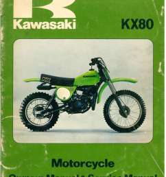 used 1979 kawasaki kx80 a1  [ 1024 x 1336 Pixel ]
