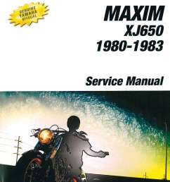 1980 1983 yamaha xj650 maxim motorcycle service manual [ 1024 x 1345 Pixel ]