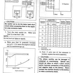 Yamaha 650 Wiring Diagram 99 04 Mustang Headlight Switch 1980  1983 Xj650 Maxim Motorcycle Service Manual