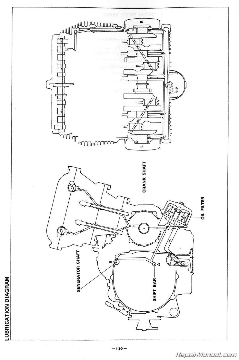 medium resolution of 82 yamaha maxim xj650 wiring diagram