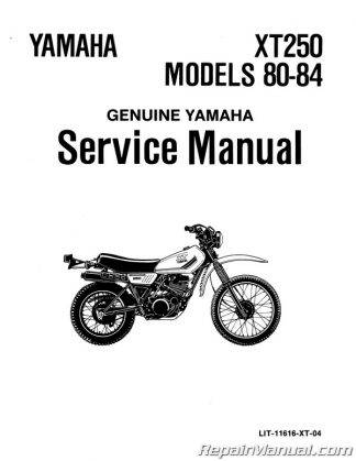1974 Yamaha DT125A Motorcycle Owners Manual