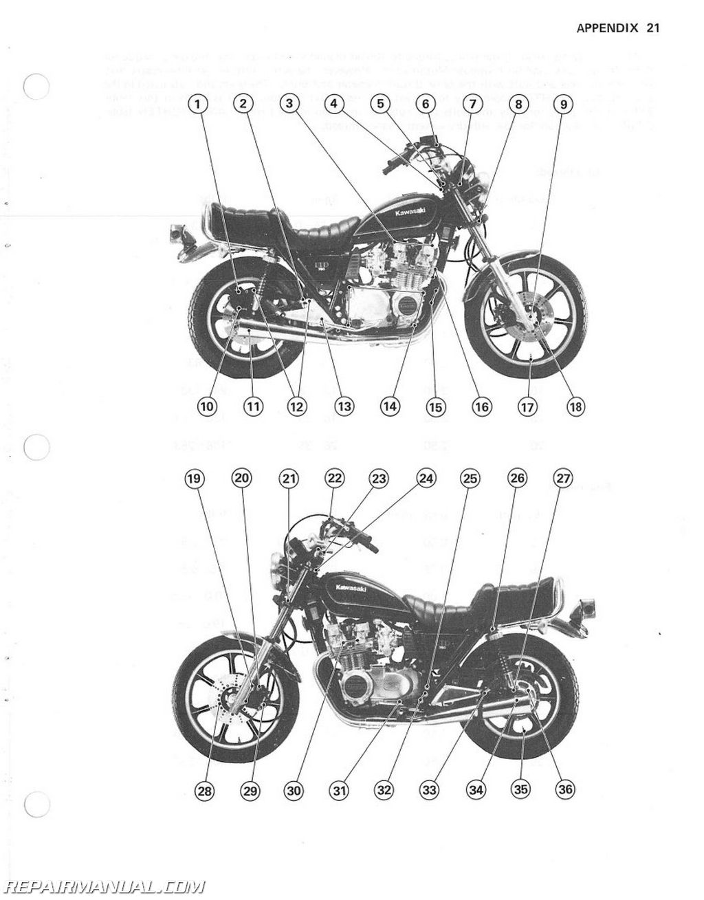 1980 Kawasaki KZ750H1 LTD Motorcycle Assembly Preparation