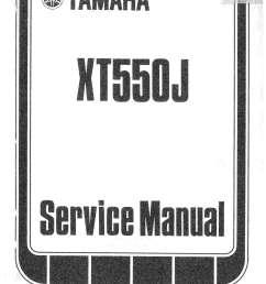1982 yamaha xt550 motorcycle service repair maintenance manual 1984 yamaha xt 600 yamaha xt 550 wiring diagram [ 1024 x 1325 Pixel ]