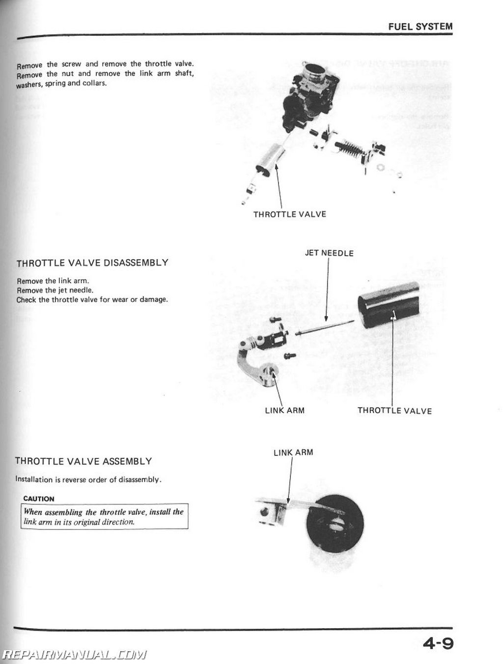 1983-1987 Honda XL600R Dual Sport Motorcycle Service Manual