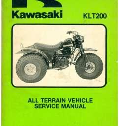 1983 kawasaki klt200 atc three wheeler service manual [ 1024 x 1325 Pixel ]