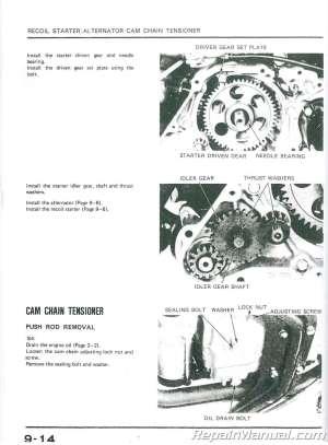 19841985 Honda ATC125M ATCATV Three Wheeler Service Manual : 6196801 | eBay