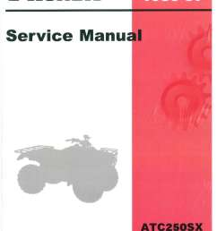 1985 1986 1987 honda atc250sx atc service manual rh repairmanual com [ 1024 x 1310 Pixel ]