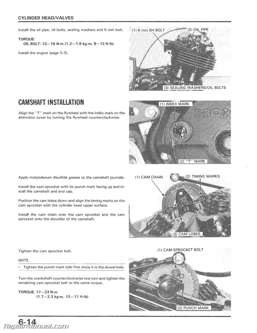 1985-1986 Honda ATC350X Service Manual