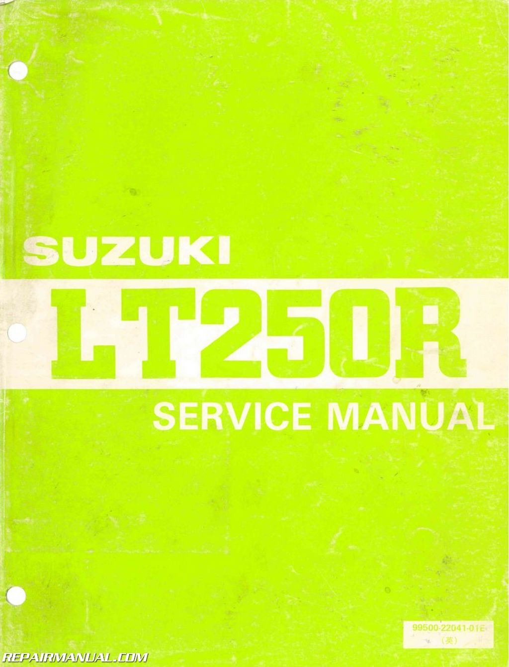 hight resolution of 1985 1986 suzuki lt250r atv service manual1985 1986 suzuki lt250r atv service manual jpg
