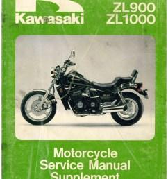 1985 1988 kawasaki zl900 zl1000 eliminator motorcycle service manual supplement [ 1024 x 1325 Pixel ]