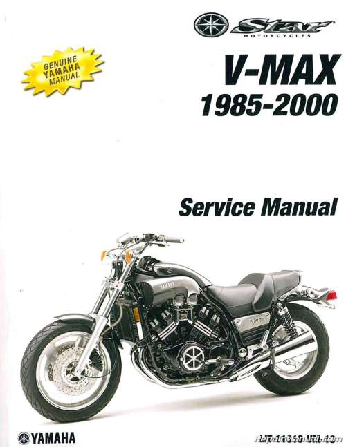 small resolution of yamaha vmax wiring diagram 1985 2000 yamaha vmx1200 vmax motorcycle service manual1985 2000 yamaha vmx1200 vmax