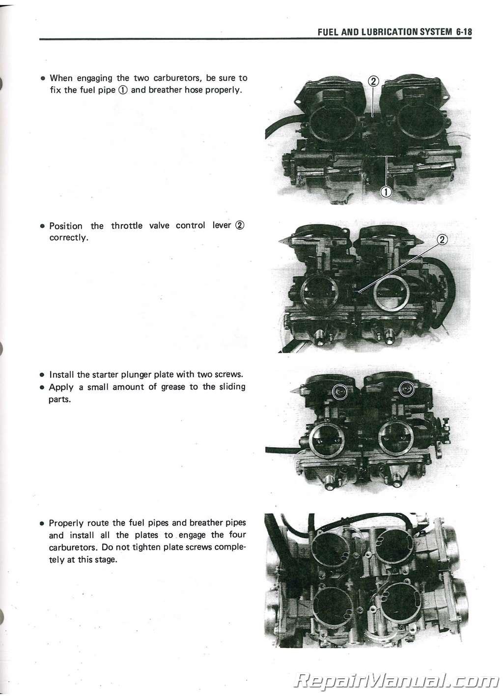 1985 Suzuki GV700 Madura Service Manual