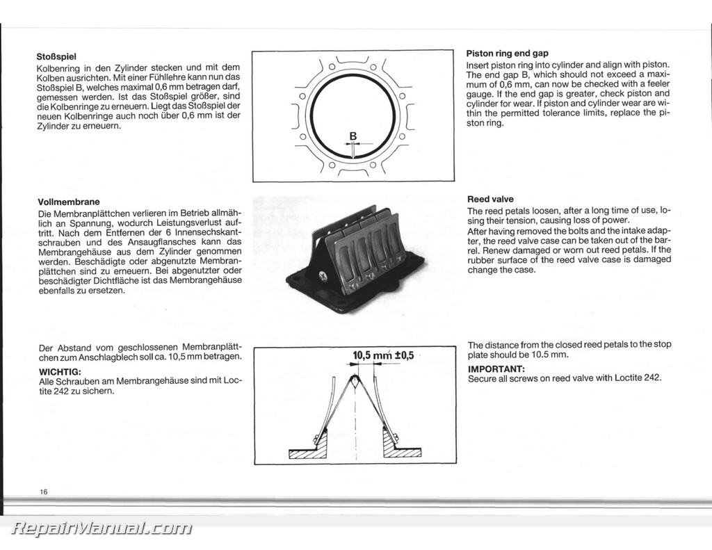 hight resolution of ktm 500 exc service manual