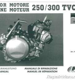 1991 1995 ktm 250 300 two stroke motorcycle engine service ktm 250 engine diagram [ 1024 x 771 Pixel ]