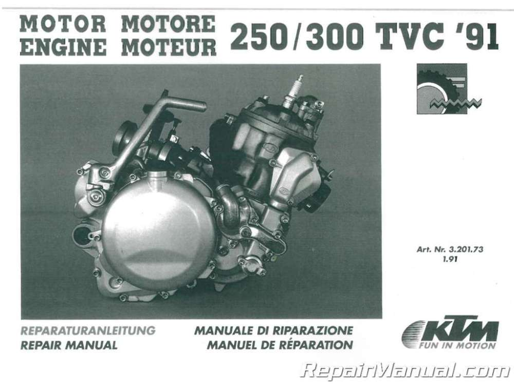 medium resolution of 1991 1995 ktm 250 300 two stroke motorcycle engine service ktm 250 engine diagram