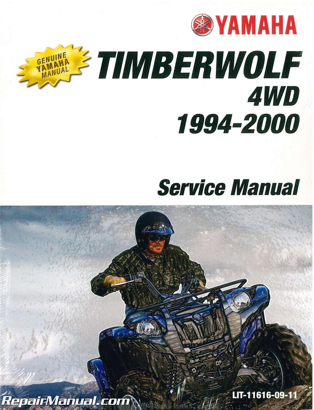 Yamaha Yfb250fwf Timberwolf Atv Service Manual