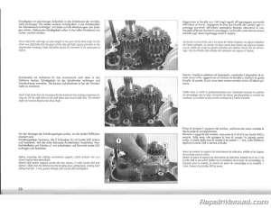 1995 KTM 400 620 LC4 Duke Motorcycle Engine Service Manual
