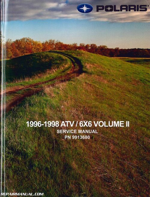 small resolution of 1996 1998 polaris atv and light utility vehicle repair manual jpg