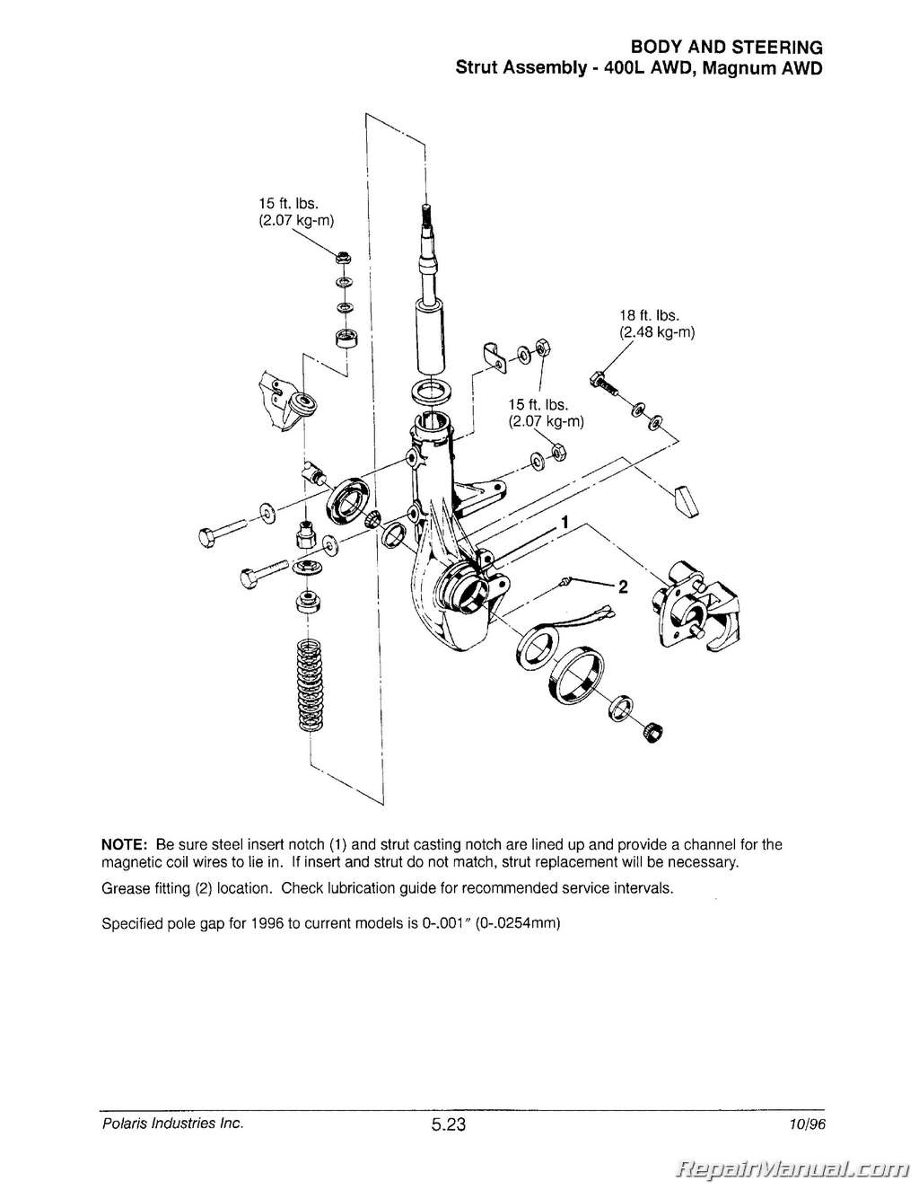 hight resolution of 1996 polari sportsman 500 stator wiring diagram