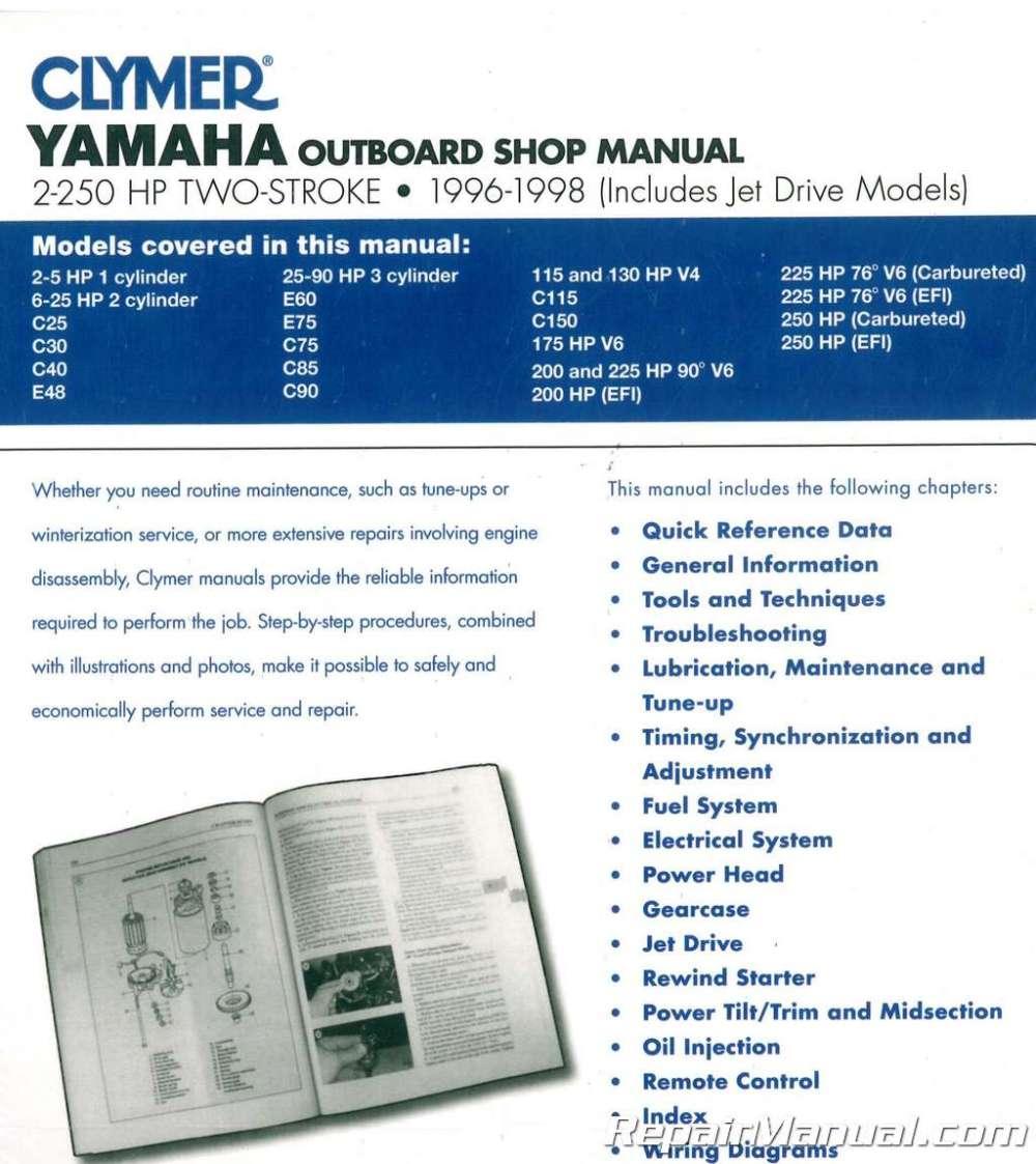 medium resolution of 1996 1998 yamaha