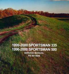 1996 2000 polaris sportsman 335 500 atv service manual jpg [ 1024 x 1393 Pixel ]