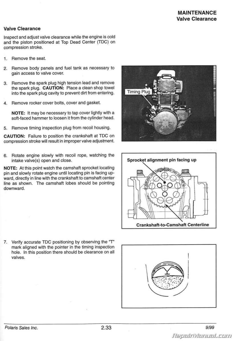 2001 Polaris Sportsman 90 Parts Manual | Kayamotor co
