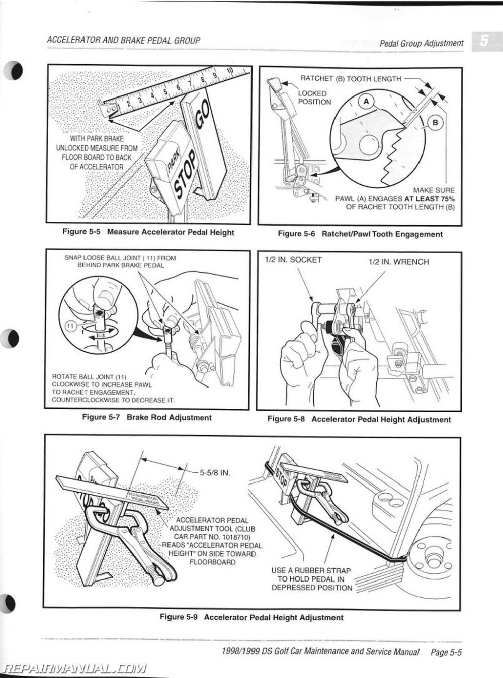 medium resolution of 98 club car part diagram