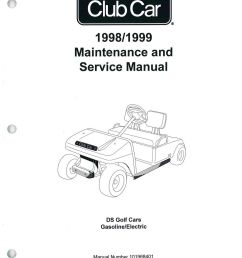 1998 1999 club car ds golf car service manual club car throttle cable diagram club car steering column diagram [ 1024 x 1329 Pixel ]