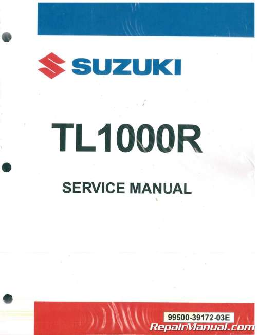small resolution of 1998 2003 suzuki tl1000r motorcycle service manual rh repairmanual com 2002 suzuki tl1000r 2003 suzuki gsx
