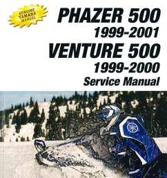 1999 2001 yamaha snowmobile service manual pz500 phazer vt500xl venture 500 xl jpg [ 1024 x 1343 Pixel ]