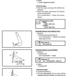 1999 2001 yamaha snowmobile service manual pz500 phazer vt500xl venture 500 xl [ 1024 x 1455 Pixel ]