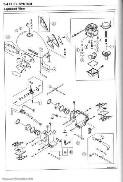 EJ650 W650 1999-2006 Kawasaki Motorcycle Service Manual