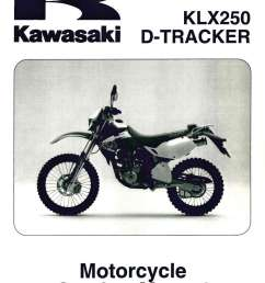 1999 2006 kawasaki klx250 service manual supplement jpg [ 1024 x 1410 Pixel ]