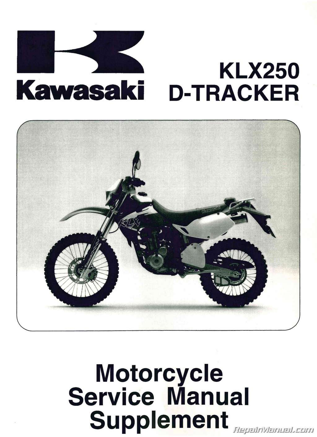 hight resolution of 1999 2006 kawasaki klx250 service manual supplement jpg