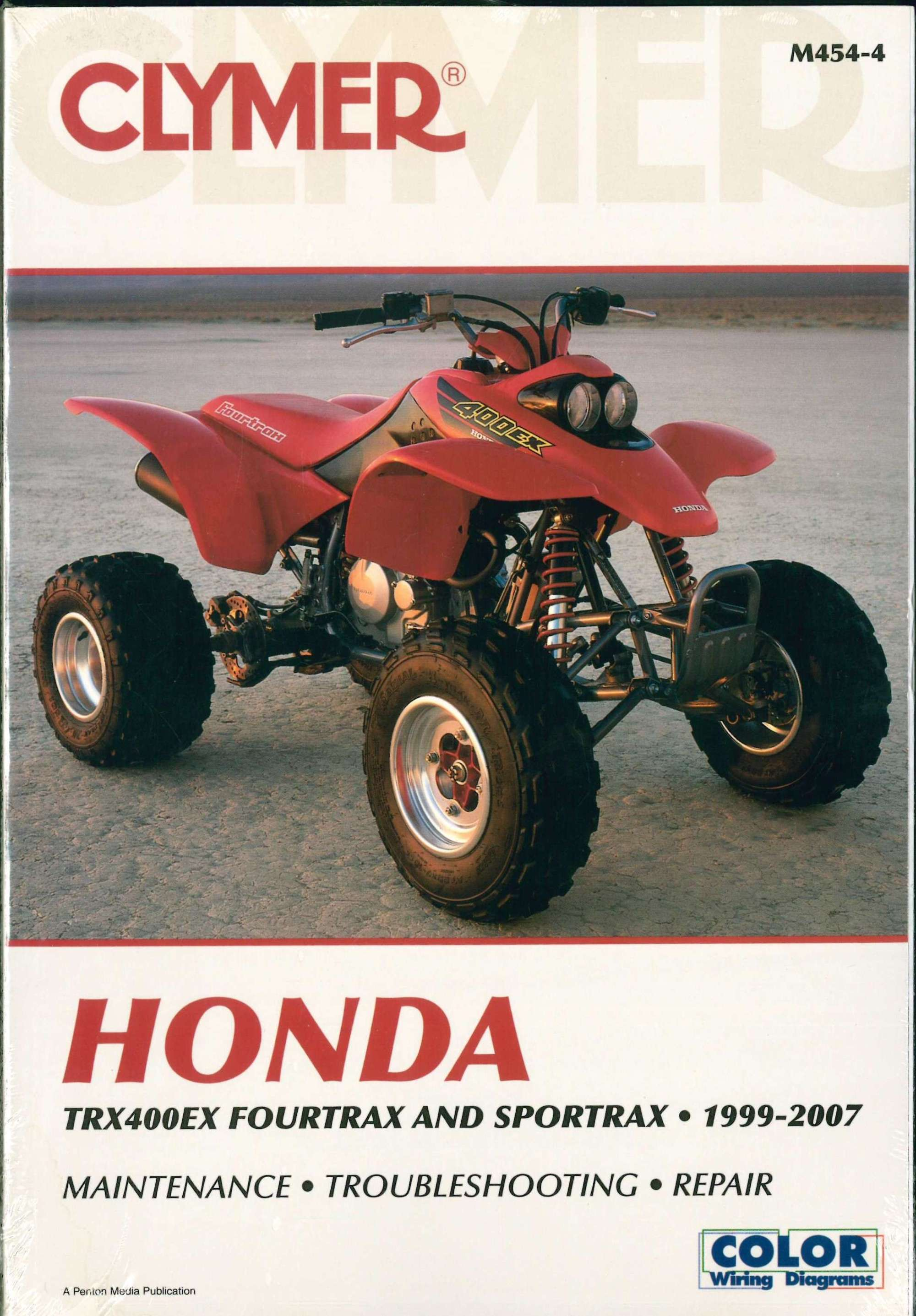 hight resolution of 1999 2007 honda trx400ex fourtrax sportrax atv repair manual