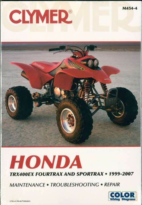 small resolution of 1999 2007 honda trx400ex fourtrax sportrax atv repair manual
