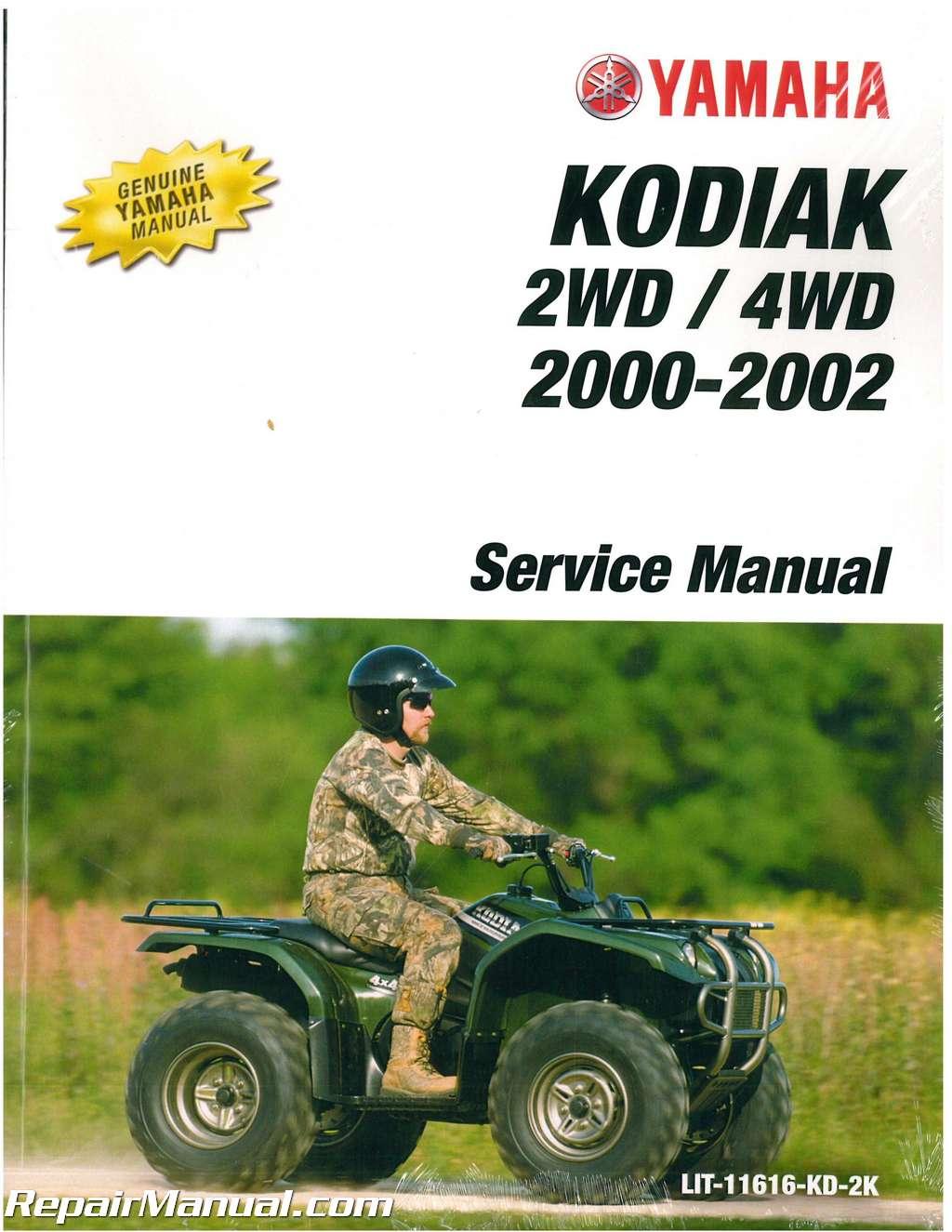 400 Kodiak Yamaha Review 2002 4x4