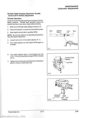 2000 Polaris Magnum 325 500 ATV Service Manual by