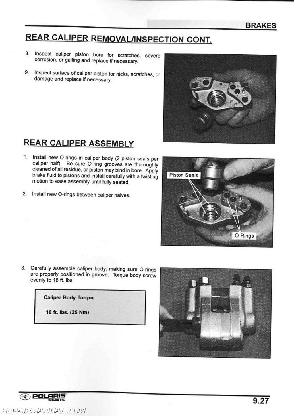 polaris xplorer 400 atv service repair manual 2000