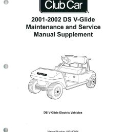 2001 2002 club car ds v glide golf car maintenance and service club car battery diagram club car v glide diagram [ 1024 x 1337 Pixel ]