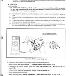 2001 2002 club car powerdrive system 48 maintenance and service manual supplement [ 1024 x 1367 Pixel ]