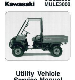 kawasaki mule 3000 part diagram [ 1024 x 1368 Pixel ]