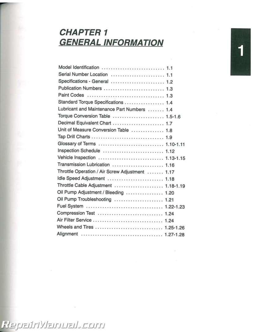 2001 polaris scrambler 50 90 sportsman atv service manual