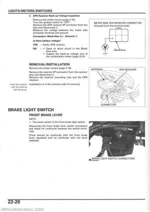 20032005 Honda TRX650 Rincon Service Manual  by RepairManual | eBay