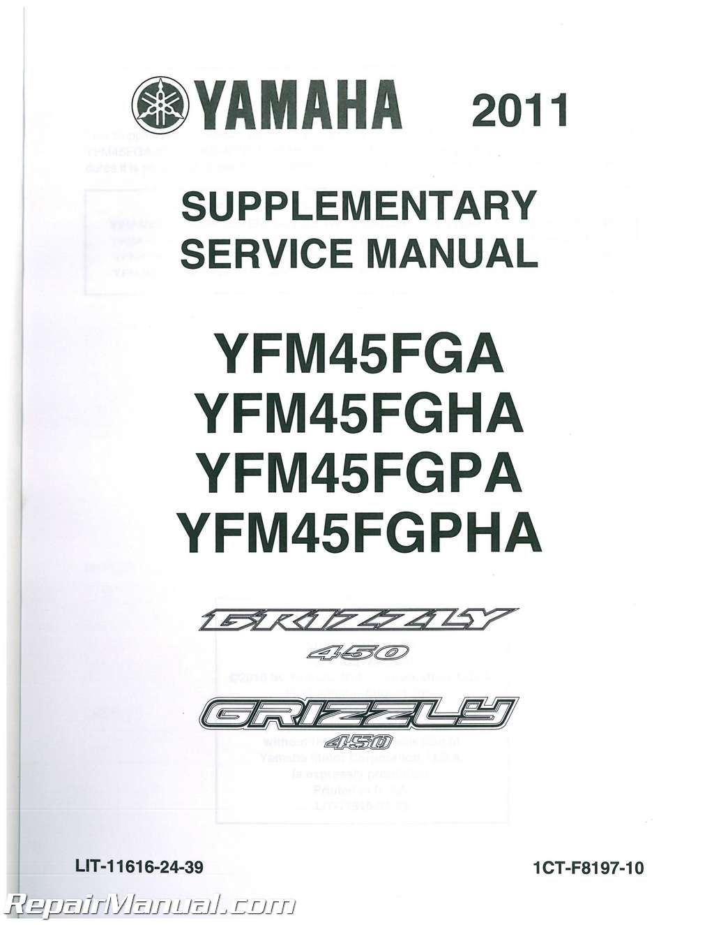hight resolution of wiring diagram 2011 450 yamaha grizzly