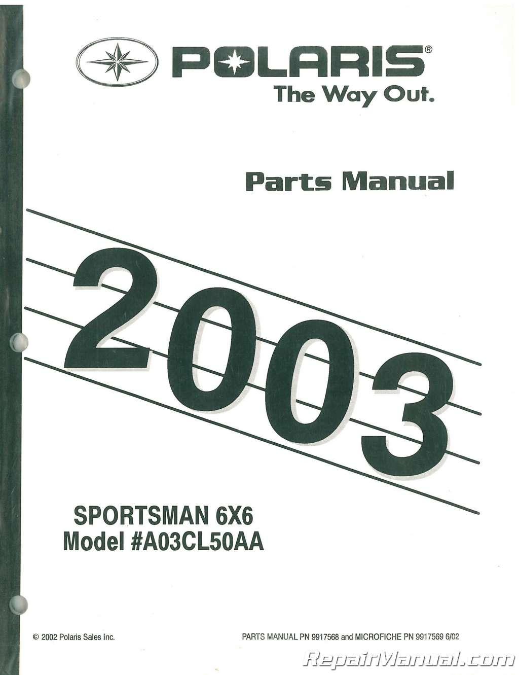 hight resolution of 2002 polari sportsman part diagram