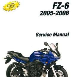 2004 2006 yamaha fz6 motorcycle service manual wr426 wiring diagram 2004 2006 yamaha fz6 [ 1024 x 1360 Pixel ]